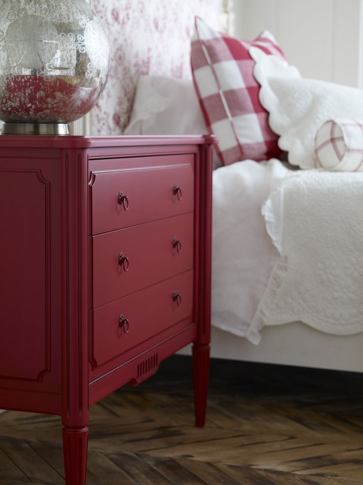 25 best ideas about Red Painted Furniture on Pinterest  Red painted dressers Red buffet and