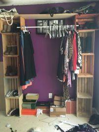 wood closet rod and shelf  Roselawnlutheran