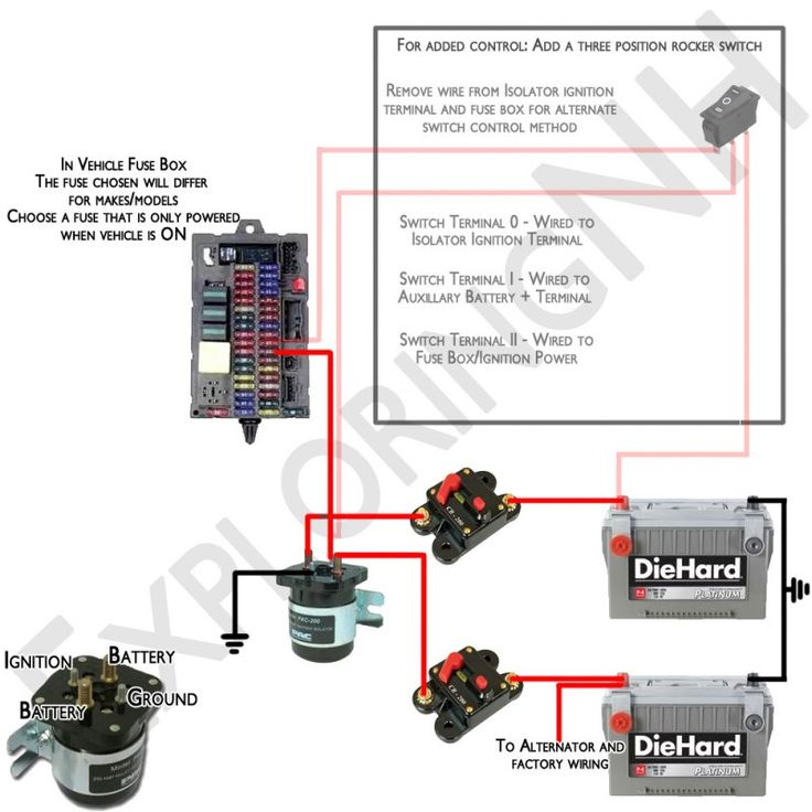 sure power battery isolator wiring diagram arduino mega 2560 circuit install dual inverter toyskids co wonderful remover from ignition charging