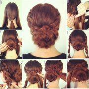 easy messy bun hairstyles - google