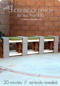 25+ best ideas about Cinder block furniture on Pinterest ...