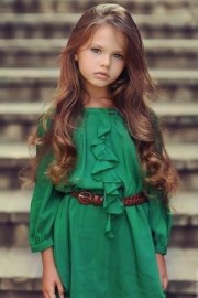 beautiful emerald dress little