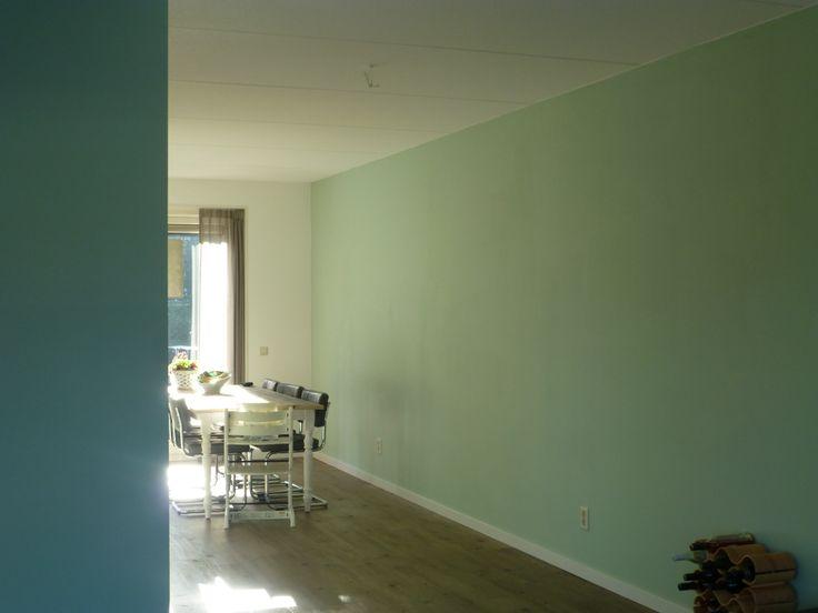 Woonkamer Kleuren op de muur Links Flexa Pure Subtle