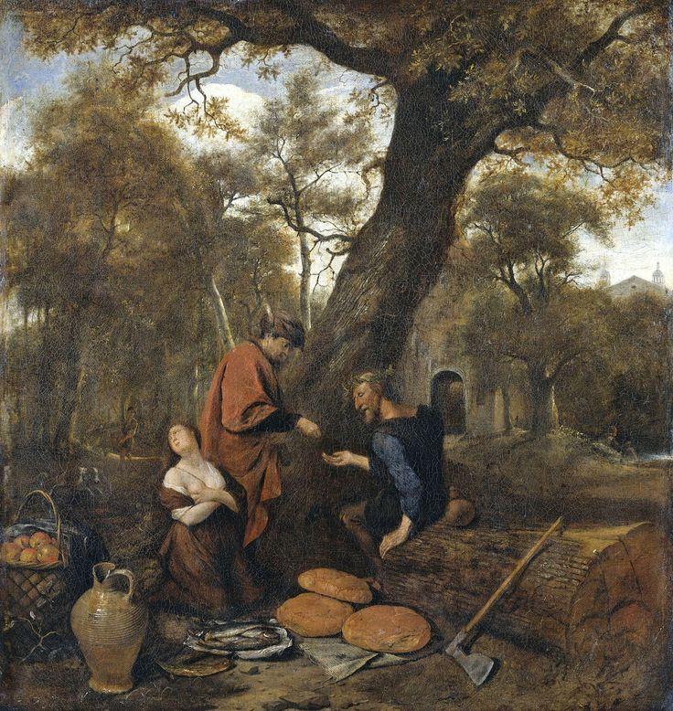 Erysichthon verkoopt zijn dochter Mestra Jan Havicksz