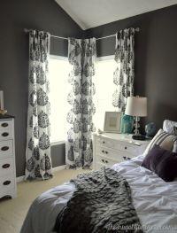 25+ best ideas about Corner Curtains on Pinterest
