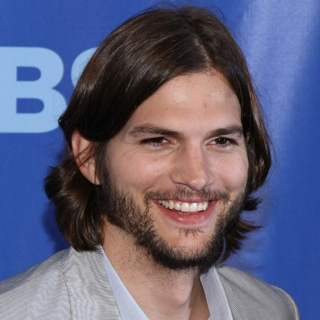 Ashton Kutcher Beards & Long Hair Men Pinterest Ashton Kutcher