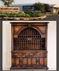 Tuscan Wrought Iron Furniture | Accent Furniture ...