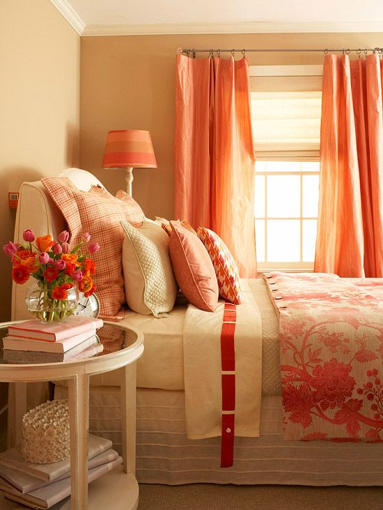 A delightful medley of pink and tangerine hues paints a