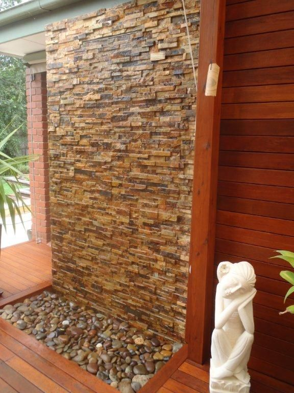 25 Best Ideas About Wall Water Features On Pinterest Outdoor