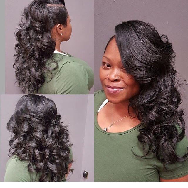 Cute sew in style  Hair it is  Pinterest  Sew Sew ins