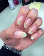 natural long nails #almond shape