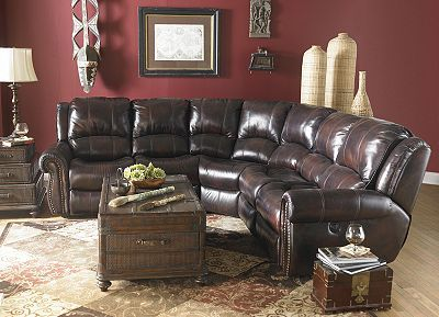 brown leather recliner chair sitting on exercises haverty's prestige sectional | house decorating ideas pinterest vinyls, nice and ...