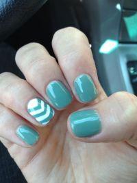 Cute fresh fall nails with chevron design! Love!! | Nailed ...