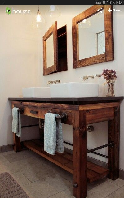 Galvanized pipe Pipes and Vanities on Pinterest