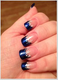 1000+ ideas about French Tip Nail Art on Pinterest | Nail ...