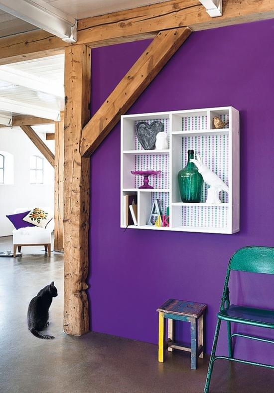 25 beste ideen over Paars interieur op Pinterest