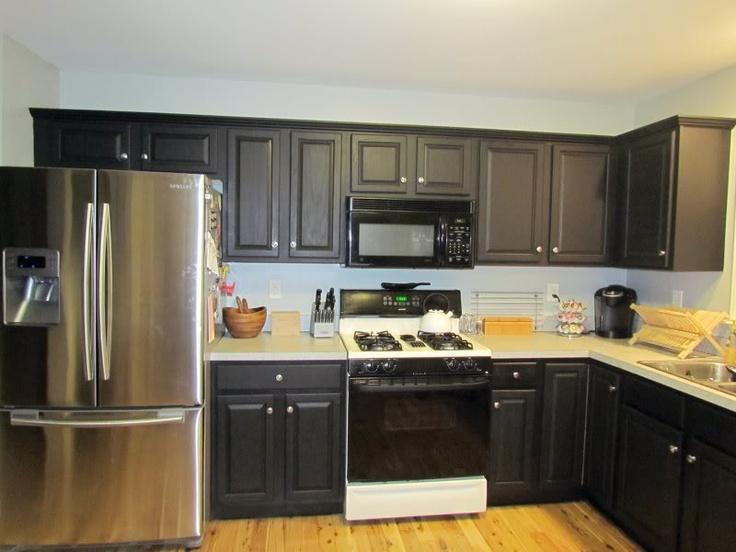 cheap kitchen countertop ideas ninja mega system 1500 recipes using rustoleum cabinet transformations | someday ...