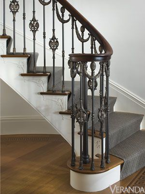 1000 Images About Wrought Iron Stair Rails On Pinterest Wrought Iron Banister Wood Handrail