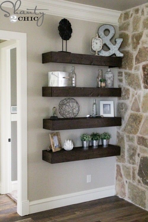 25 Best Ideas About Wall Shelves On Pinterest Shelves Wall