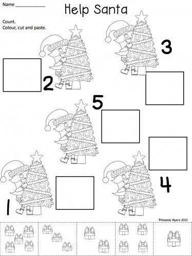 17 Best ideas about Christmas Worksheets on Pinterest