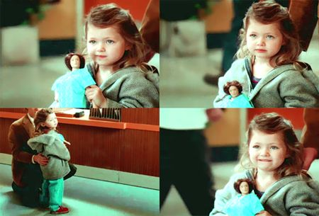 Baby Meredith and her Anatomy Jane when her mom scolded ...