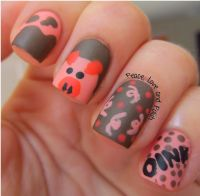 25+ best ideas about Pig nails on Pinterest | Pig nail art ...