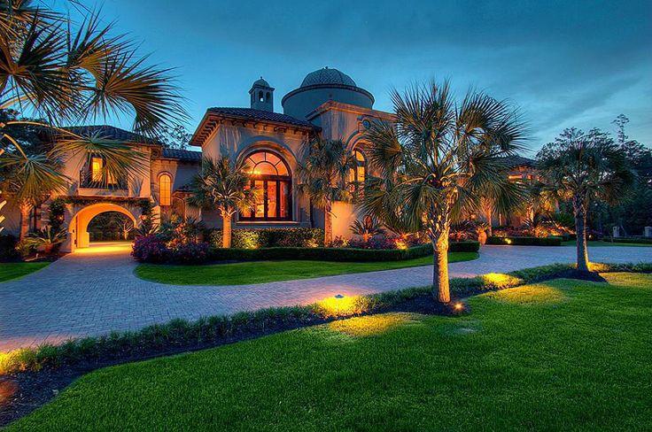 595 Million Mediterranean Mansion In The Woodlands TX