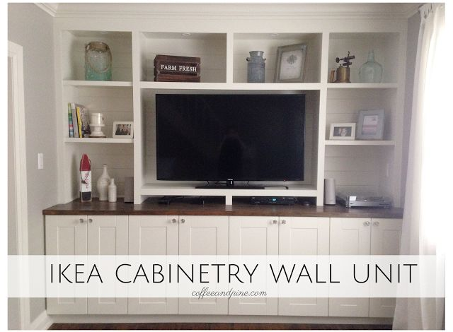 inexpensive kitchen island small tables for sale ikea hack - wall unit. an affordable way to build a ...
