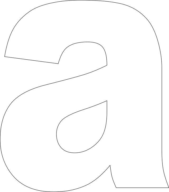 17 Best ideas about Alphabet Templates on Pinterest