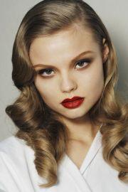 retro glam. #makeup world