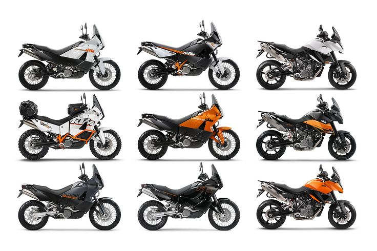 KTM 990 adventure (half white, white Baja edition
