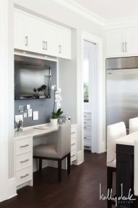 25+ best ideas about Kitchen office on Pinterest