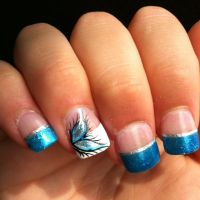 Best 25+ French tip nail designs ideas on Pinterest | Nail ...