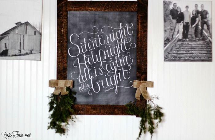 25 best ideas about Christmas chalkboard art on Pinterest  Christmas chalkboard Chalkboard