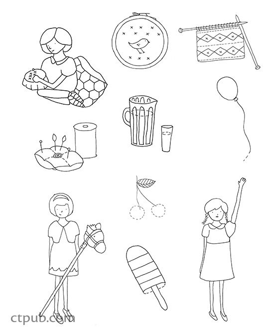 1000+ images about Coloring Book Projects on Pinterest