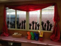 25+ best ideas about Classroom window decorations on