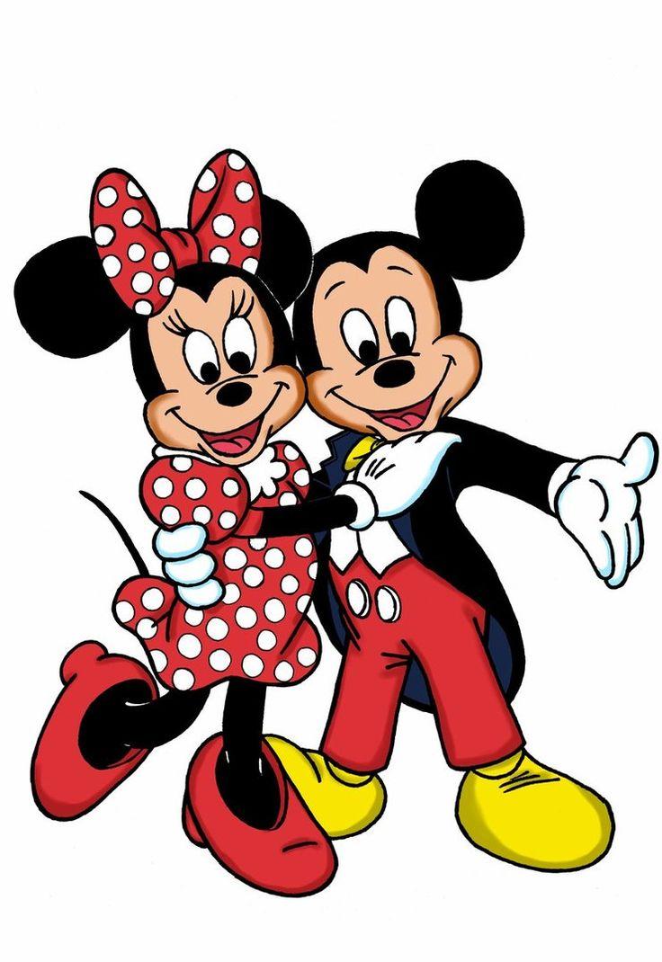 Mickey and Minnie  Disney  Pinterest  Disney Cartoon and Disney couples