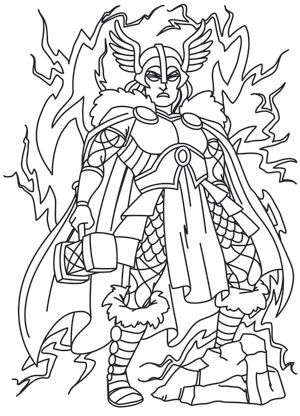 1000+ images about Norse Colouring Pages on Pinterest