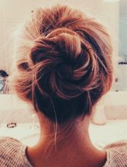 ideas thick hairstyles