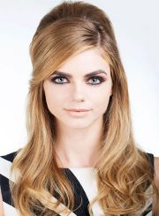 side swept bangs long prom hairstyles