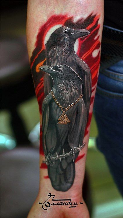 25 Best Ideas About Raven Tattoo On Pinterest Crow