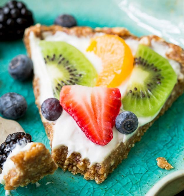 yogurt fruit tart 11 healthy greek recipes desserts