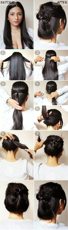 25 Best Ideas About Casual Updo Tutorial On Pinterest Casual