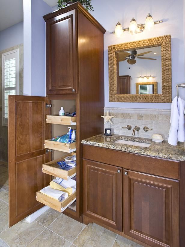 Top 25+ best Bathroom vanity storage ideas on Pinterest