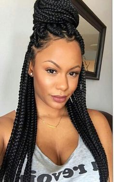 25 Best Ideas About Individual Braids On Pinterest Black Hair