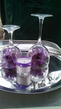 17 Best images about WINE GLASS CENTERPIECES on Pinterest ...
