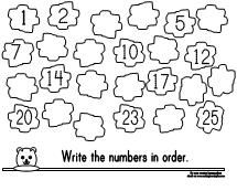 Printable Missing Number Worksheet for Groundhog Day from