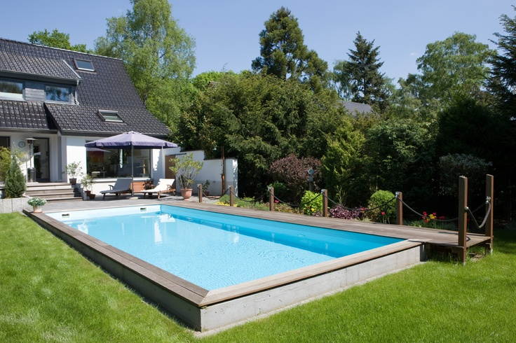 schwimmbad fuer den garten  Schwimmbadbau in Leverkusen  Pinterest  Pools and Garten