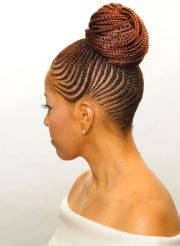 natural hair-braids and twists