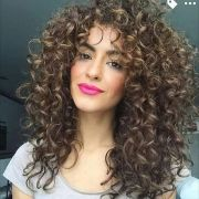 layered curly hair ideas